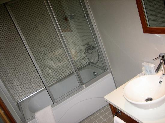 Dragos Park Hotel : View of the bathroom 2