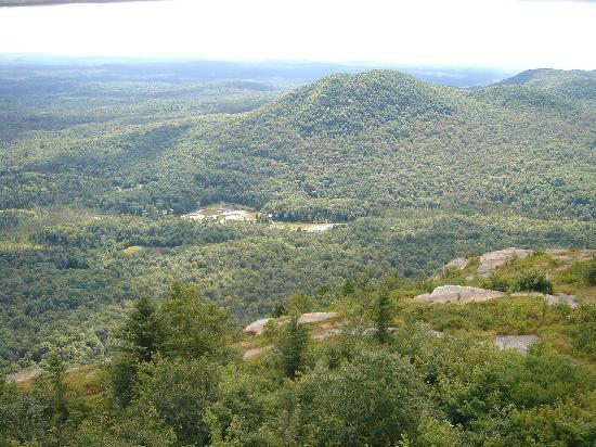 Azure Mountain: View from the FIre Tower