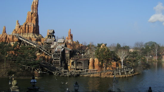 Marne-la-Vallee, Francja: Thunder Mountain