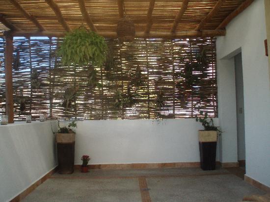Hacienda Alemana: Dachterrasse