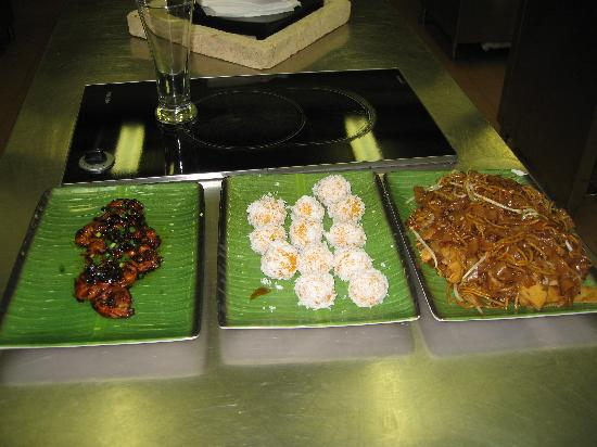 The Singapore Culinary Academy & Spice Garden: A few of the dishes we prepared