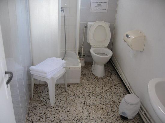 Hotel Treperi : Salle de bains chambre SUPERIEURE !!!!