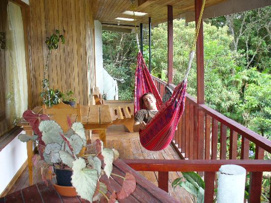 Hotel Jardines de Monteverde: Le balcon