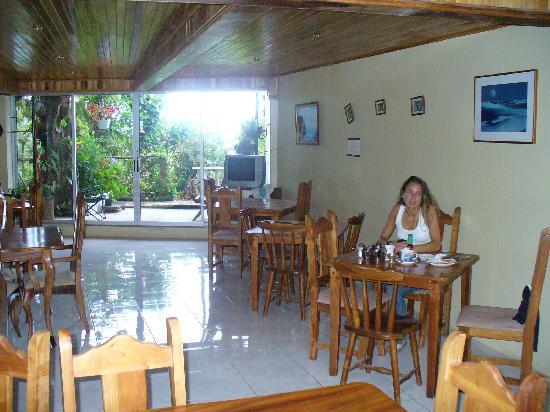Hotel Jardines de Monteverde: Salle a manger du Los Jardines