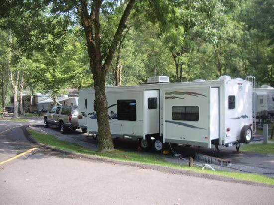 Campsite Photos Twin Creek Rv Resort Gatlinburg