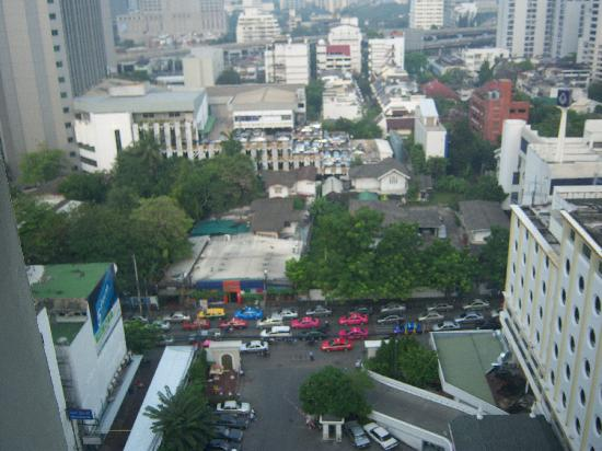 Grace Hotel: top floor view