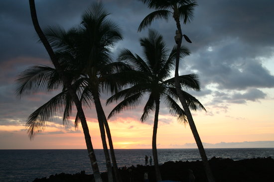Вайколоа, Гавайи: Another sunset at Waikoloa