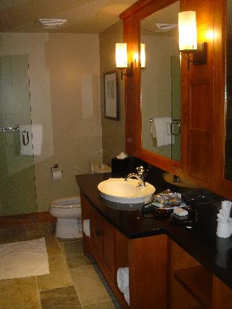 Nita Lake Lodge: Studio room bathroom