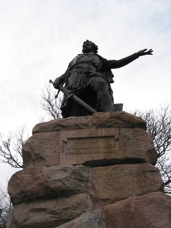 Αμπερντίν, UK: Aberdeen - Wallace Statue