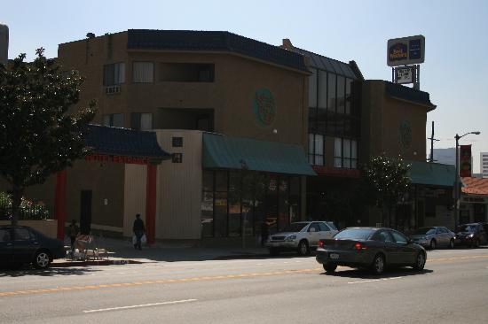 Facade Picture Of Best Western Plus Dragon Gate Inn Los