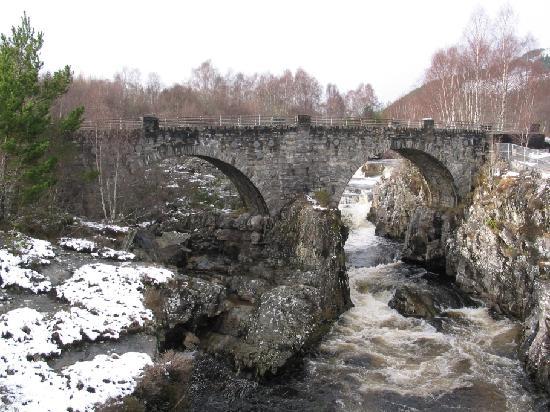 Garve Bridge Picture Of Scottish Highlands Scotland