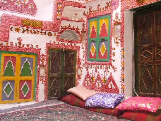 Ghadamis, Libya: Interior of Ghadames House