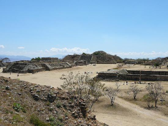 Hotel Azucenas: Day Trip to Monte Alban, take the collectivo, not a private car!