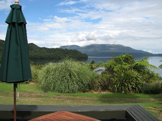 Solitaire Lodge: View from our terrace
