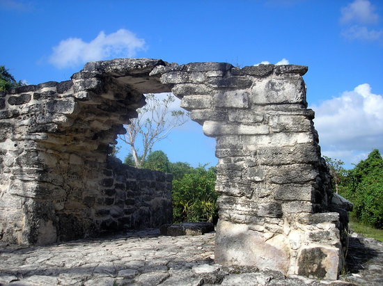 Cozumel, Mexico: San Gervasio - The Arch