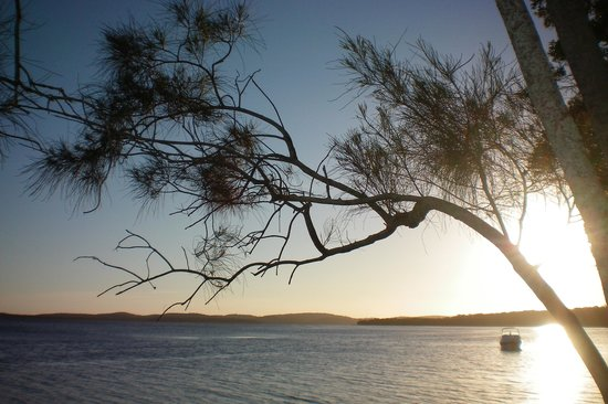 Myall Lakes National Park, Australia: Sunset