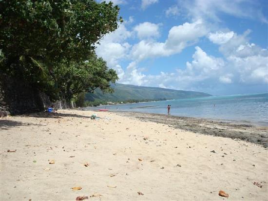 The rooms photo de pension de la plage tahiti punaauia for Chambre 13 tahiti plage