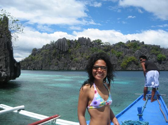 Coron, Filipinas: me @banol beach