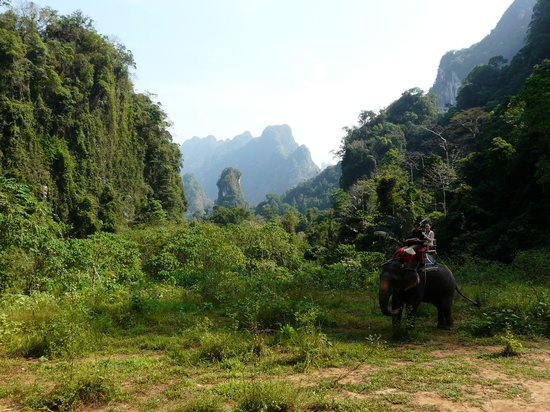 Khao Sok National Park, Thái Lan: Lovely views
