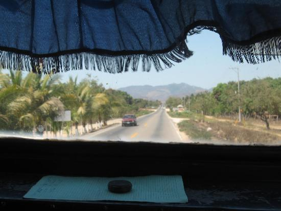 View from bus to Petatlan