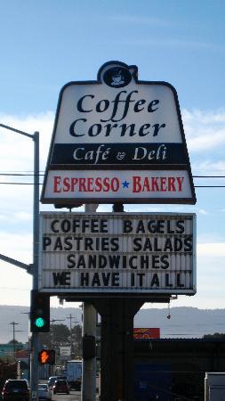 فرونت ستريت إن: The Coffee Corner