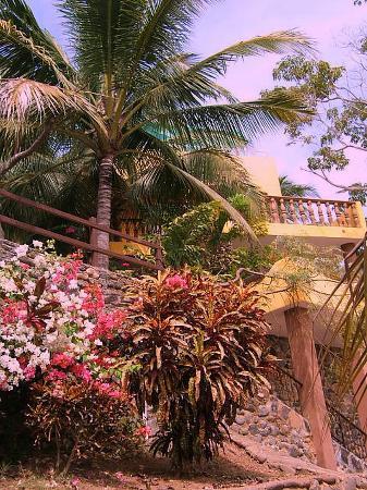 Villa Celeste from the beachside