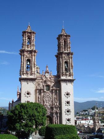 Plaza Borda - Taxco - Catedral Santa Prisca