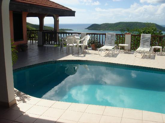 Leverick Bay Resort: our villa awesome views