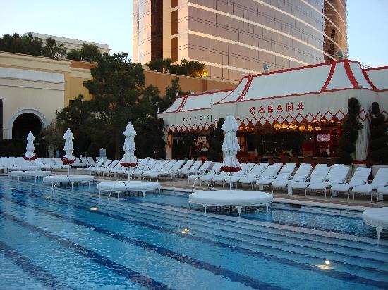 Wynn Las Vegas S Only Area Of Pool