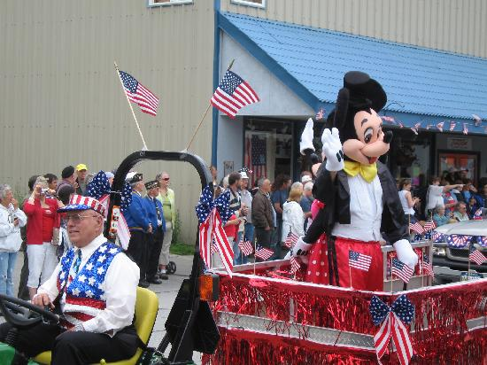 Wrangell Extended Stay : Wrangell is a great on the 4th of July