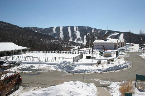 View Of Jiminy Peak From The Hot Tub Outdoor Pool Is