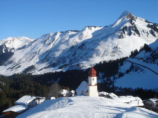 Damüls, Autriche : Copyrights Vincent Ellerbach, February 2008
