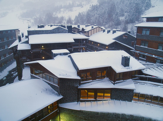 Euroski Mountain Resort: View from hotel room, third floor