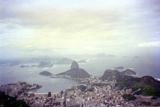 Benidorm Palace Hotel: Vista desde Corcovado  - RIO JANEIRO
