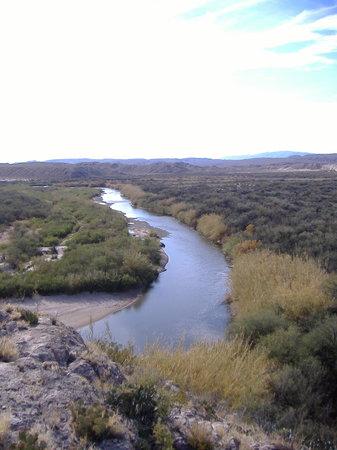 Big Bend National Park, TX: El Rio Grande