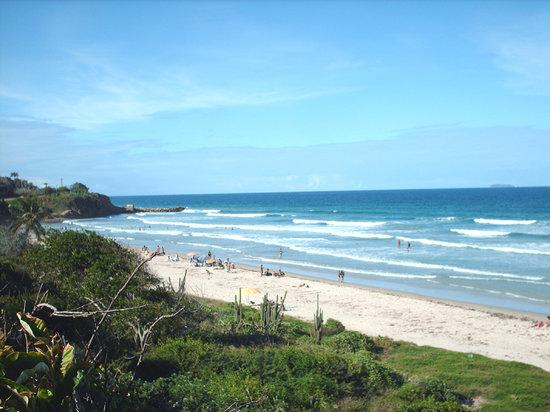 Margarita, Venezuela: Playa Guacuco