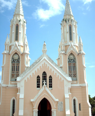 Isla de Margarita, Venezuela: Santuario de la Virgen del Valle
