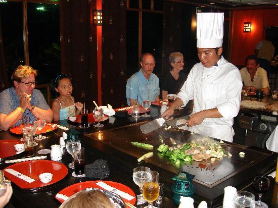 Iberostar Paraiso Beach: Restaurant Japonais