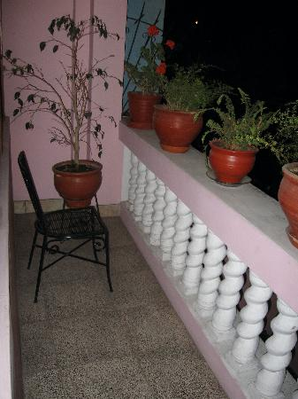 Casa Arequipa: Garden Room balcony