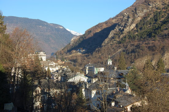 Brides-les-Bains, France: The view from our room