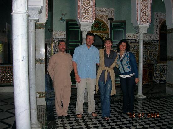 L Mansion Marrakech: Adil, Doug, Mary, Lamya