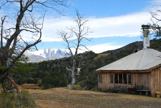 explora Patagonia - All Inclusive : Qinche (Chilean Barbecue) Location
