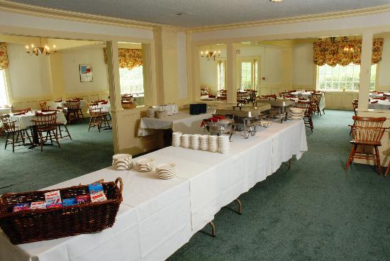 Sugarbush Inn: Breakfast Buffet
