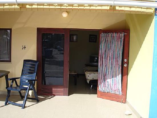 Aruba Blue Village: Entrance