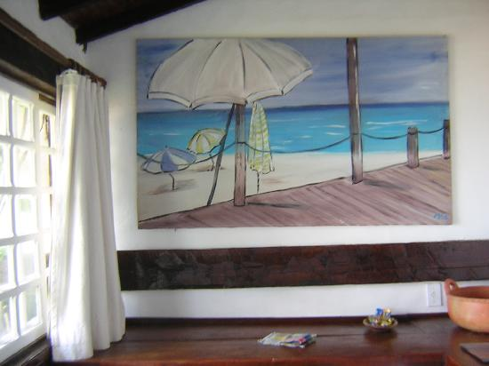 Pousada Vila Do Mar: Art in our room