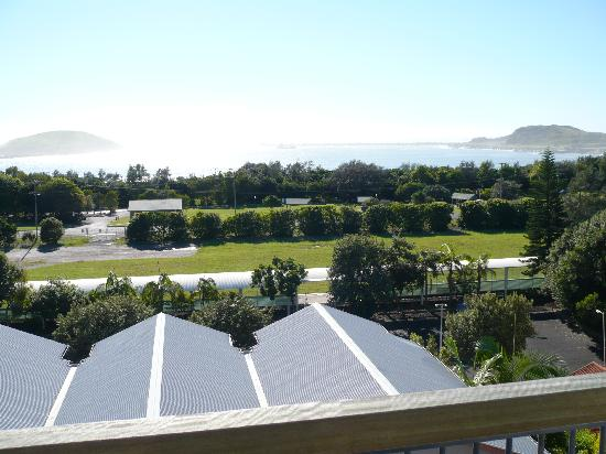 The Observatory Holiday Apartments : View from our room over Coffs Harbour Marina