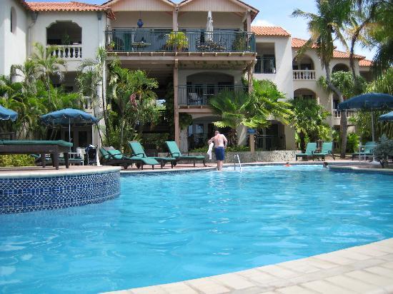 Pool by veranda rooms picture of divi aruba all - Divi all inclusive ...