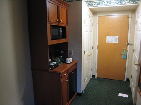 Hilton Garden Inn Tampa East/Brandon: Room Entry