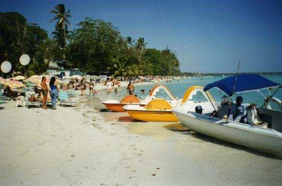 Playa Sobre El Mar Caribe Boca Chica Rep Dominicana Fotograf 237 A De Boca Chica Santo