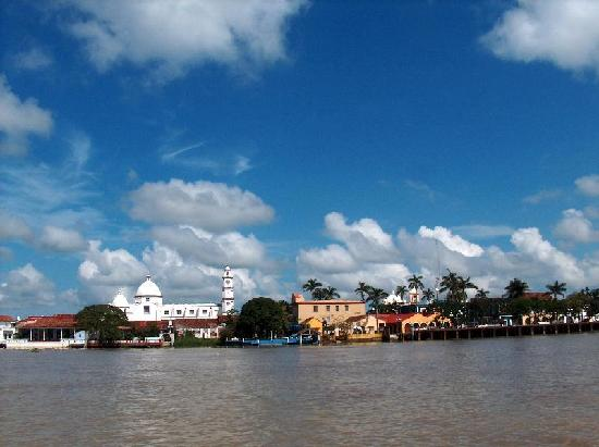 Tlacotalpan from the Papaloapan River